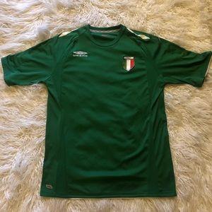 Umbro Green Italy Soccer Futbol Jersey